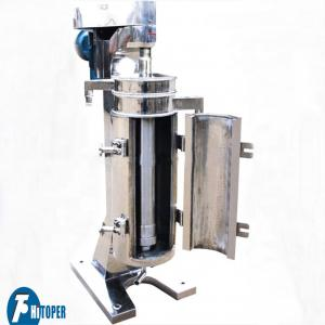 China Industrial Oil Water Centrifuge Equipment For Fuel / Oil / Yeast / Protein Separation on sale