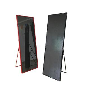 China High Contrast Indoor Led Poster Display SMD 1010/2020 With Front Servicing on sale