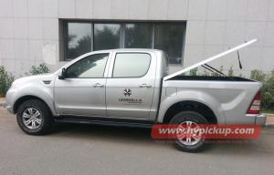 Quality Triton 2010+, tampas do tonneau do recolhimento da cama FRP do trilho 1.5m de for sale