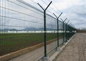 China Airport Security Barbed Wire Fencing on sale