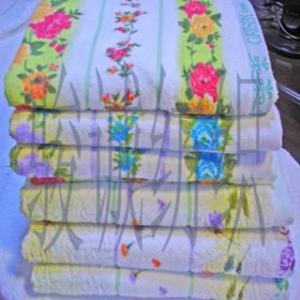 China 100%cotton Jacquard Pigment Printing Bath Towel on sale
