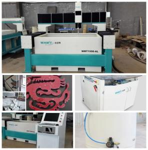 China granite tile floor 1500*2000mm 420Mpa CNC water jet cutting systems with CE on sale