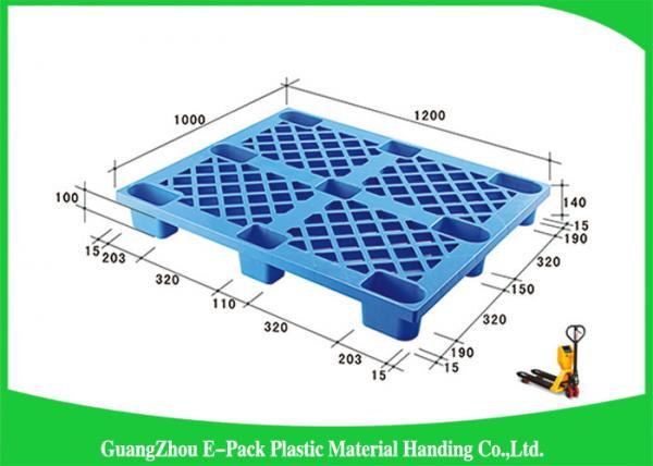 Export Blue Economical Nestable Plastic Pallets Easy