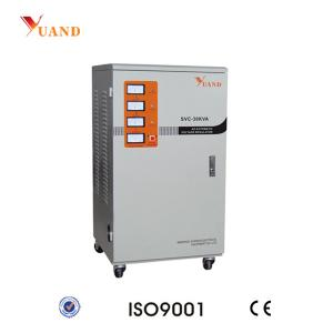 China SVC-30KVA 380V Three Phase Servo Control AC Automatic Voltage Regulator on sale