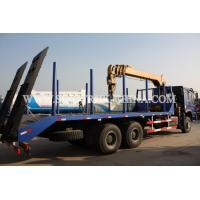 Diesel 6×4 Cargo Truck Mounted Crane , 12TONS Truck Bed Lift Crane Model SQ12SK3Q