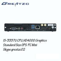 Intel Ivy Bridge I3 3227U Open Pluggable Specification PC , Low Power Mini PC