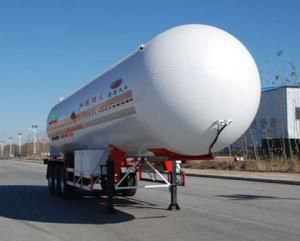China PEARL 12.8 meters 22 tons of liquefied gas transport trailer 3 axle PJQ9400GYQC on sale