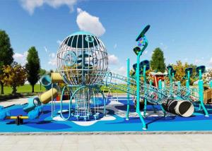 China Anti Static Outdoor Amusement Park Equipment UV Resistance Professional Design on sale