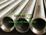 6 5/8 Inch 85/8inch Stainless Steel 304L Looped Johnson type Wedge Wire Screen Pipes