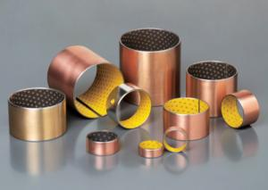 China High Precision Oilless Bushing All Oiles Bronze Bearing , Oil Free Bushings on sale