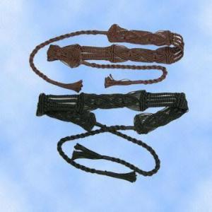 China Trendy Woven Nylon Belts on sale