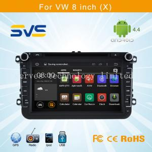 China Android car dvd player GPS navigation for 8 inch knob VW/Volkswagen sagitar/passat B6/polo on sale