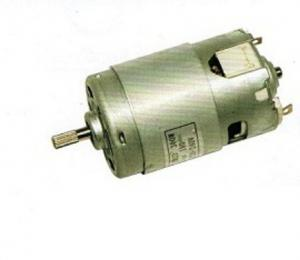 China Micro high speed DC permanent magnet motor 7812 for treadmill on sale
