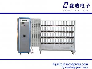 China HS-6125 Manually Operated Single Phase Dial Test Bench Energy Meter Counting on sale