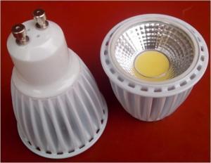 China 7W GU10 LED spot light bulbs on sale