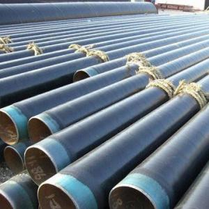 China API 5L, APL 5CT LSAW Pipes, 3 layers Longitudinal Submerged Arc Welding Pipes on sale
