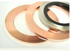 China AgCu Copper Alloy Strip Precious Metal Dual Side Inlay For Electrical Brush on sale