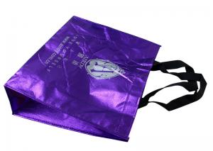 China Shining Non Woven Carry Bags Reusable With Screen Printing Logo tape Handle on sale
