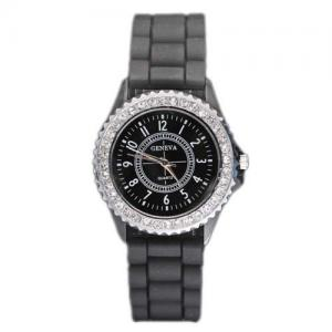 China Geneva silicone watches on sale