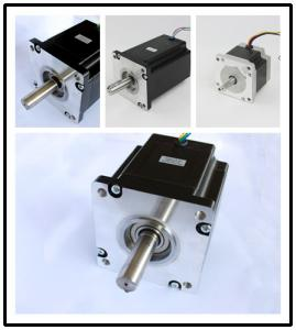 China Low Current Two Phase Stepper Motor , Permanent Magnet Stepper Motor on sale