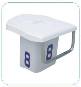 China Luxurious Competition SS304 Portable Swimming Starting Blocks on sale