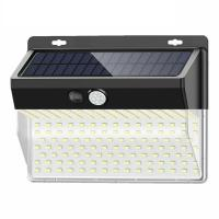 China Super Bright 5000K 208 Led Solar Light / DC6V Solar Powered Motion Sensor Security Light on sale