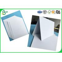 Tear Resistant 400g -1000g Double Coated Glossy Duplex Paper For Printing With White Color