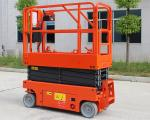 Self Propelled Mobile Scissor Lift 8m Lifting Height For Aerial Working