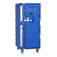 580Litre OLIVO-Style Blue Large Insulated Plastic Roll Cabinet