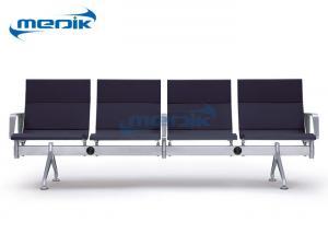 China 4 sillas de los muebles del hospital de Seater laminan el marco de acero para la clínica on sale