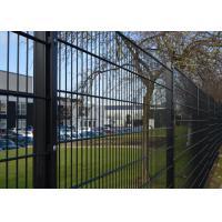 China Double Rod Welded Wire Fence Panels Height 1600mm Metal Wire Mesh Fence on sale