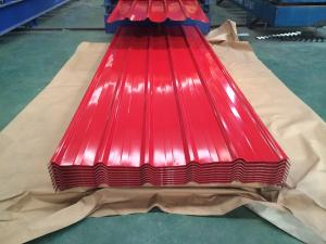 China colorful galvanized metal roofing sheet Aluzinc roofing sheet IBR sheet on sale