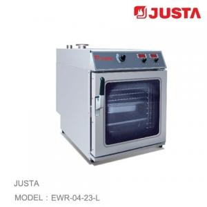 China JUSTA Electric Pizza Oven 4 Tray Combi Steamer Digital Control System on sale