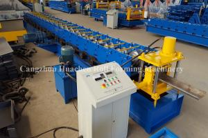 China Steel Security Door Frame Roll Forming Machine with 14 Steps , 85 mm Effective Width on sale