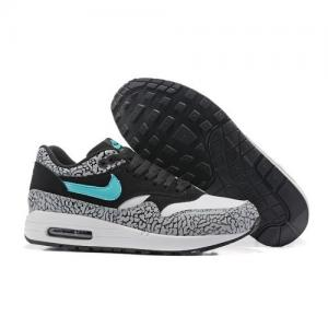 China Unisex Nike Air Max Lunar 1 Deluxe Black White Lt Grey CLR2006 discount brand shoes sports sneakers www.apollo-mall.com on sale