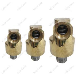 China Monoflow high speed hydraulic cooling water rotary joint thead connection on sale