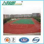 Imperious Self-Knot Pattern Rubber Running Track Flooring For 400m Standard Stadium Floor IAAF