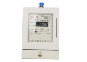 China Smart Card Prepaid Energy Meter Single Phase Two Wires DDSY Series Electronic Type on sale