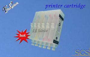 China Yellow, Photo Cyan BCI1431 Pigment Refillable Large Format Ink Cartridges For Canon W6200 W6400 on sale