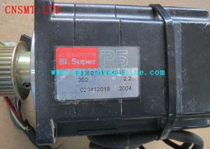 China Black Smt Assembly Line Original Sanyo Servo Motor P20B13500 FXSH1E / P50 B07030DXS4E on sale