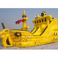 Crazy N Popular Pirate Kids Inflatable Water Slides Inflatable Boat Water Slide For Kids