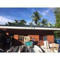 China Fiber Cement Board Steel Structure Homes , Light Gauge Steel Frame Modern House on sale