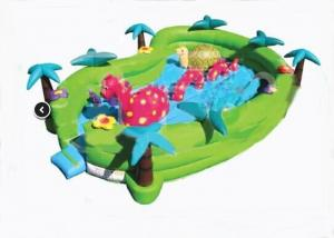 China Safety Jungel Seaworld Adventure Inflatable Toddler Playground 24ft x 16ft x 6ft on sale