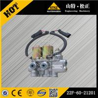 Construction solenoid valve 22F-60-21201 bulldozerloader pump gear undercarriage parts, valve, Filter, injector, rollar