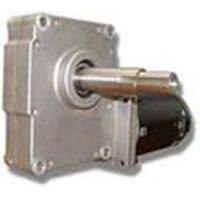 Die Casting Worm Wheel Geared Dc Motors With Mcp2 Brake Removable Brush Bronze Worm Wheel Material
