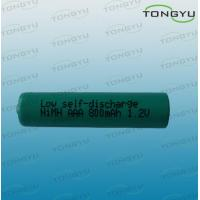800mAh 1.2V AAA NiMh Rechargeable Battery Cell for Solar Lights , MP3 Players