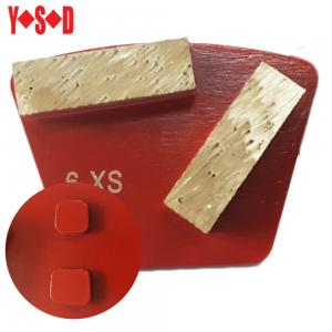 China Metal Bond Slide Style 2 Bars Diamond Tooling Shoes for STI Grinders on sale