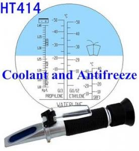 China Battery Coolant and Antifreeze Refractometer on sale