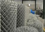 ASTM A 392-03 610gram/sqm chain link fabric 5ft height with a 2 mesh aperture
