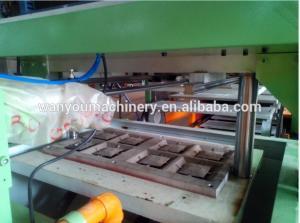 China Low Noise Paper Egg Tray Machine , Egg Box Making Machine Paper Apple Tray Making on sale